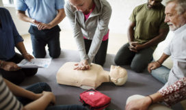 CPR-AED and Standard First Aid Course