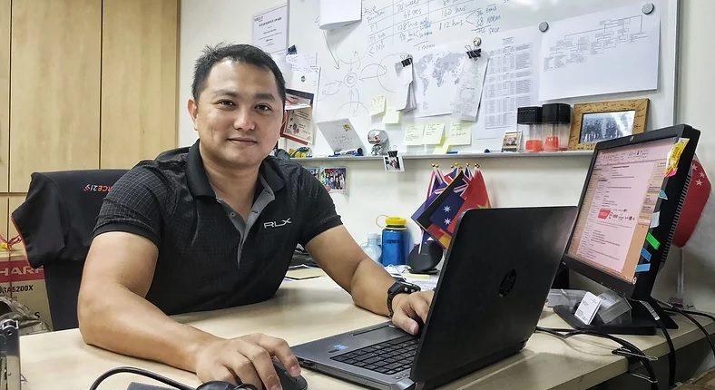 ISA student Roy Chan