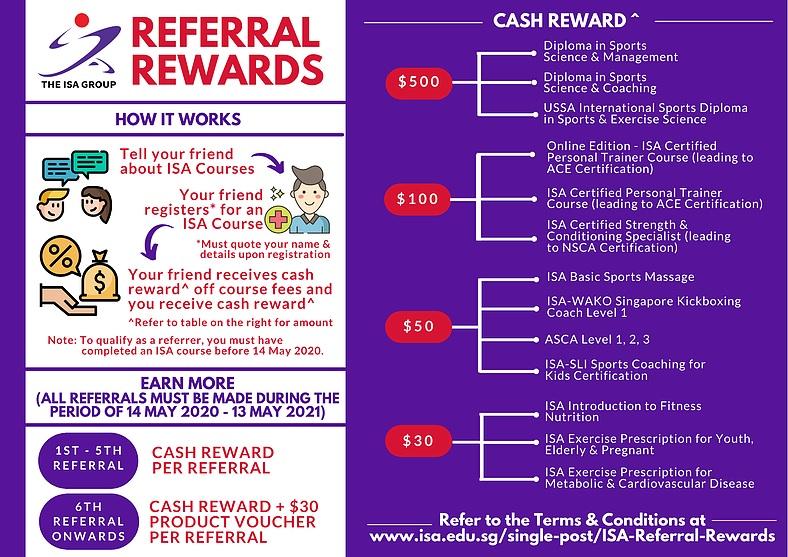 Referal Rewards